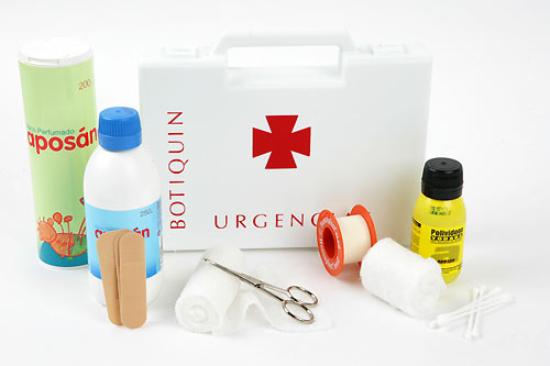 Sección Botiquín y Primeros Auxilios